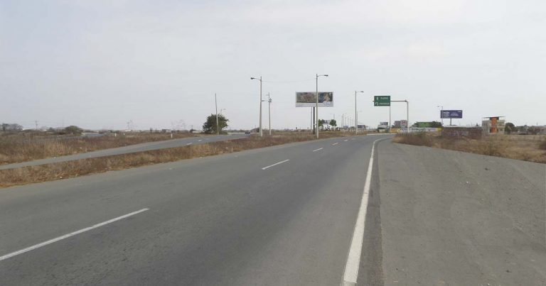 Autopista de acceso a General Villamil, Cantón Playas