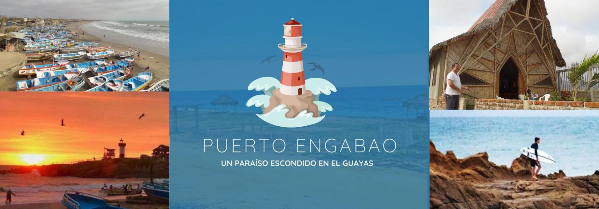 Puerto Engabao: Turismo de playas en la Comuna Engabao, Guayas
