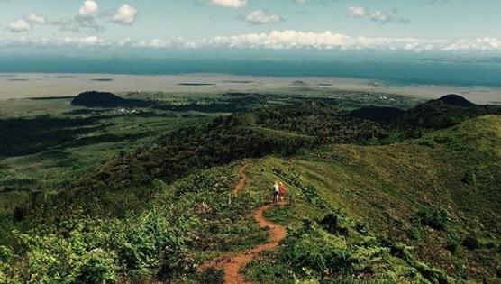 Vista del Mirador Cerro Crocker en la Isla Santa Cruz