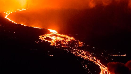 Cadena de Volcanes en la Isla Isabela, Galápagos