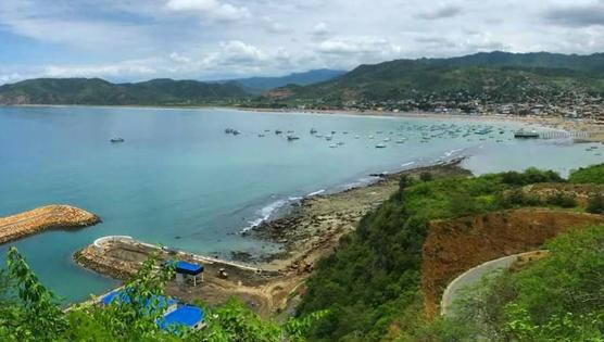 Playa de Puerto López en Manabí