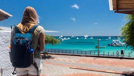 Puerto Baquerizo Moreno en Galápagos