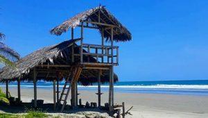 Playa de Pedernales en Manabí
