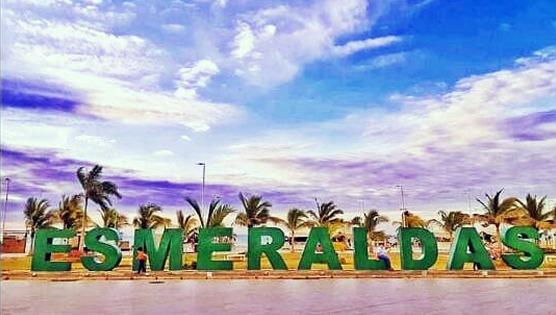 Playa del Cantón Esmeraldas