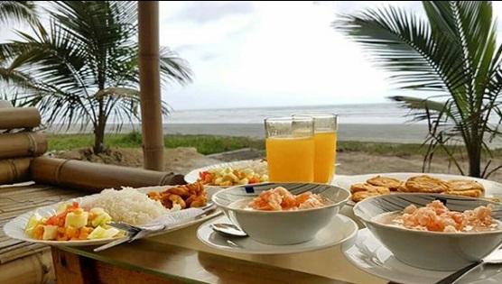 Gastronomía en Boca de Briseño