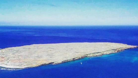 Isla Santiago en Galápagos