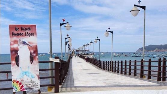 Muelle de Playa Puerto López