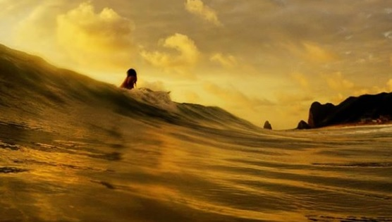 Tarde de surf en San Lorenzo, Manta