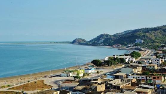 Playa de San Vicente en Manabí