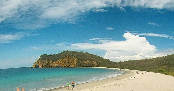Playa de Los Frailes en Manabí