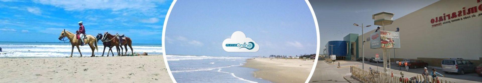 Playas en la Vía Data Villamil Posorja