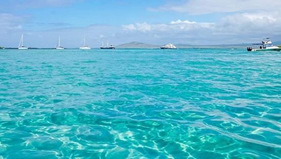 Playa Puerto Villamil en Isla Isabela