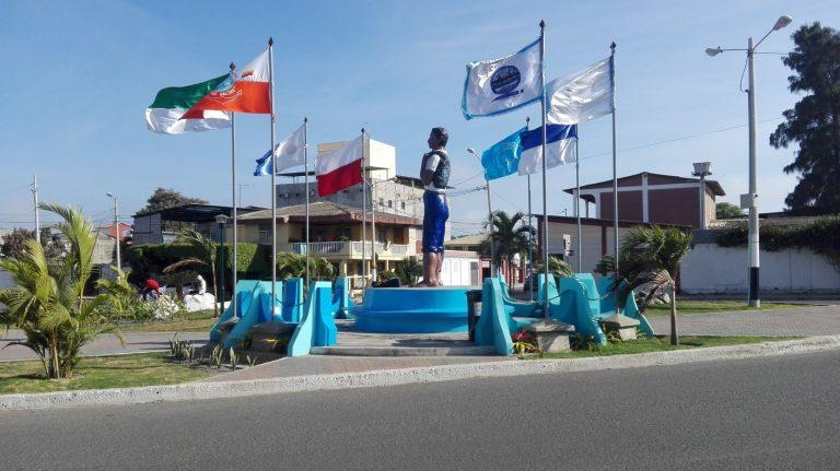 Monumento al Pescador en General Villamil Playas